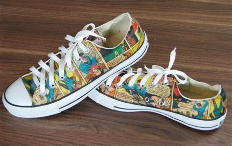comic book sneakers comic book sneakers jonathan fong style