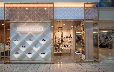 refine color modern shoe shop design  display fixtures