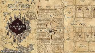 harry potter map marauders map lets you stalk friends using messenger daily mail