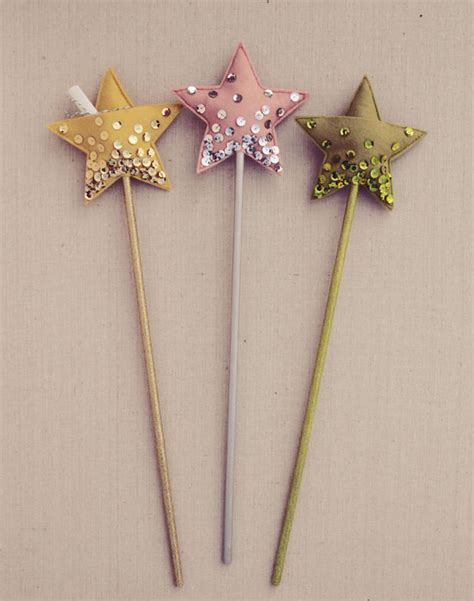 magic wand pattern diy star wand cute idea for little girls but i d