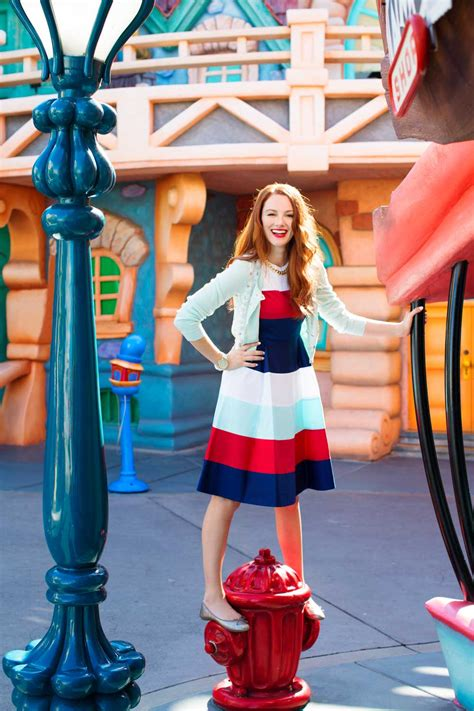 Kate Spade Mickey Studed K015 the disneyland photo shoot of our dreams disney style