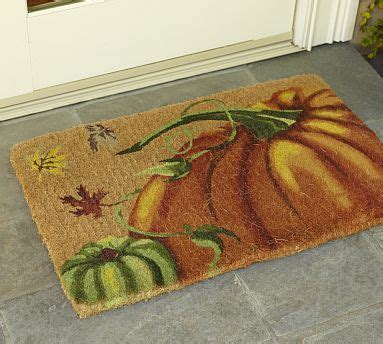Fall Outside Door Mats 17 Best Images About Pottery Barn On Pumpkins