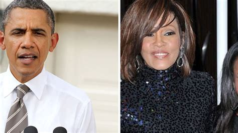 barack obama sings whitney houston i will always love you from us pr 228 sident obama betet f 252 r whitneys tochter promiflash de