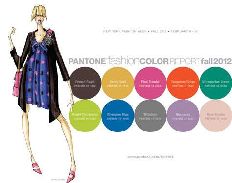 pantone color trends pantone fashion color report for fall 2012 foot traffic