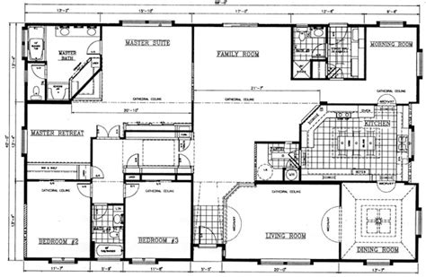 floor plans for a mansion valley quality homes mansion series 2831 floor plan