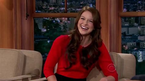 melissa benoist tattoo benoist shows tattoos on craig ferguson