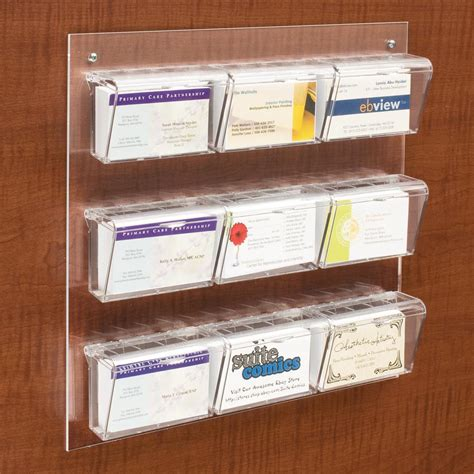 Business Card Display