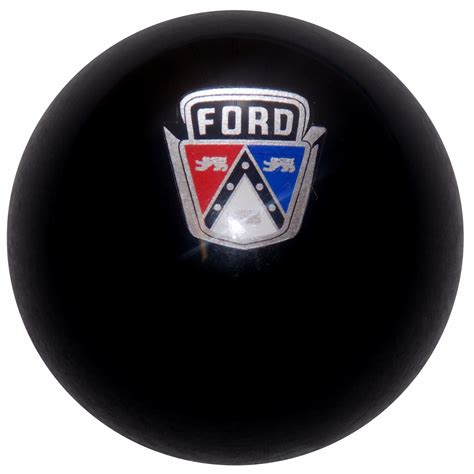ford old logo black ford old logo shift knob