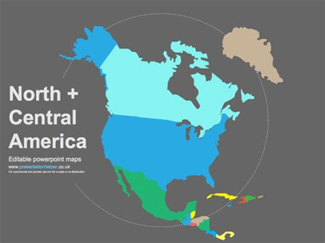 powerpoint map of usa mexico map for powerpoint
