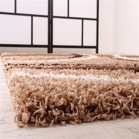 Langflor Teppich Beige