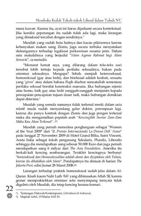 Membuka Kedok Tokoh Tokoh Liberal Dalam Tibuh Nu M Najih Mimoen membuka kedok tokoh liberal nu www kabarmakkah
