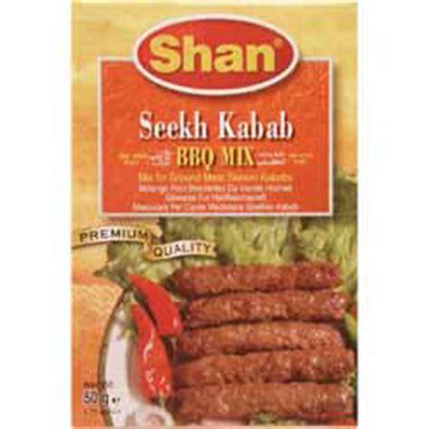 Seekh Kebab BBQ Mix   Shan