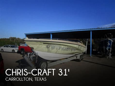 chris craft boats for sale in texas canceled chris craft 312 stinger sl boat in dallas tx