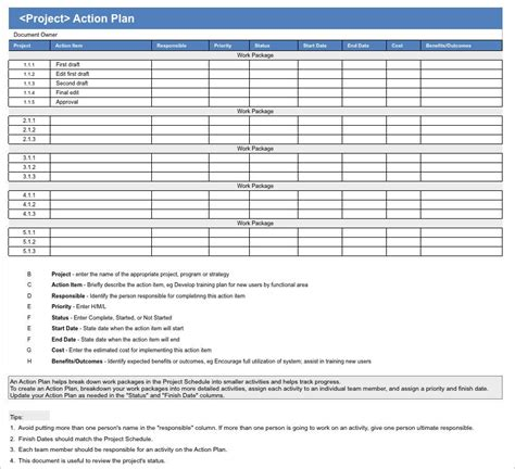 action plan apple iwork pages numbers