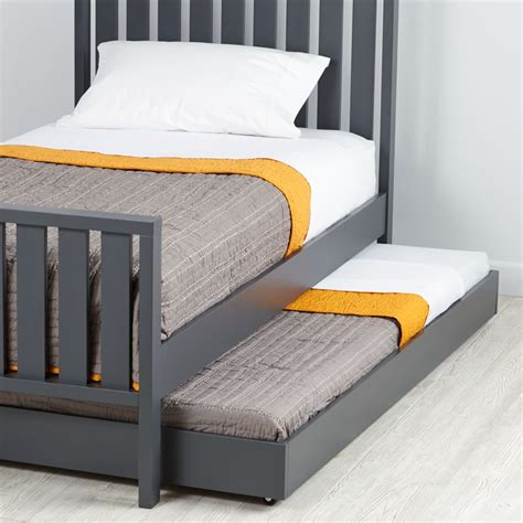 land of nod beds cargo trundle bed grey the land of nod