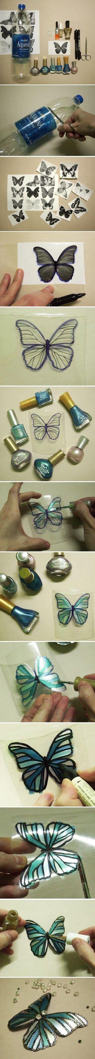 kiss ide tutorial cara membuat kupu kupu cantik dari botol plastik bekas
