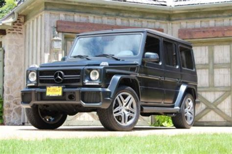 Mercedes G Wagon 2013 by Purchase Used 2013 Mercedes G Wagon G63 Quot Darth Vader