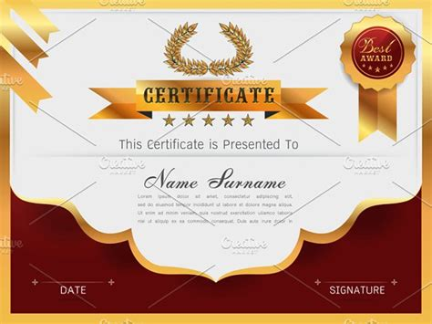 templates cards and certificates graceful certificate template card templates creative