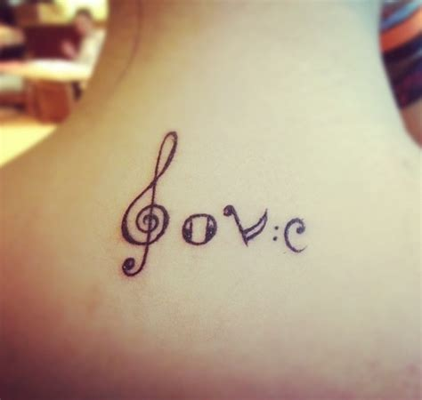 tattoo love music music love tattoo tattoos pinterest