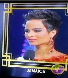 jamaican short hairstyle in staten island i would like wish jamaica s representative kaci fennell