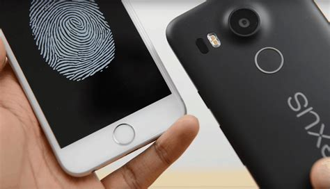 android fingerprint scanner cult of android nexus 5x fingerprint scanner even faster than the iphone s