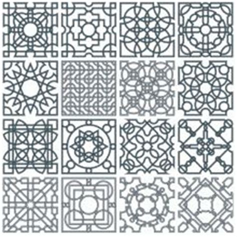 islamic pattern dxf this is a collection of 16 interlace strapwork patterns