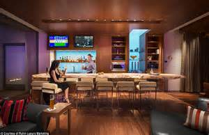Complete Bar Las Vegas Pad Complete With Its Own Bar Goes Up For