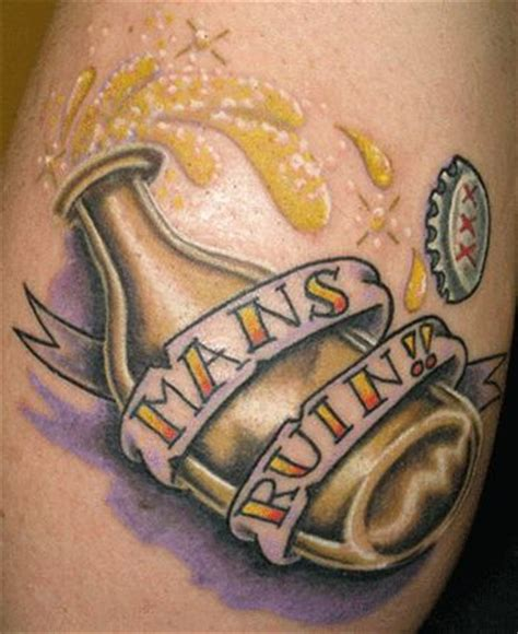 alcohol tattoo 17 best images about on