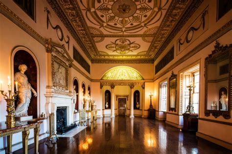 robert adam interiors  syon house  english home
