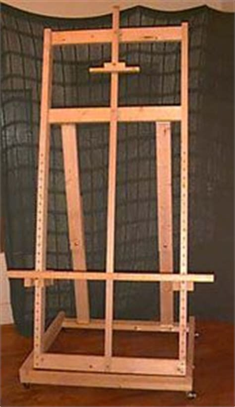 diy artist easel woodworking projects plans