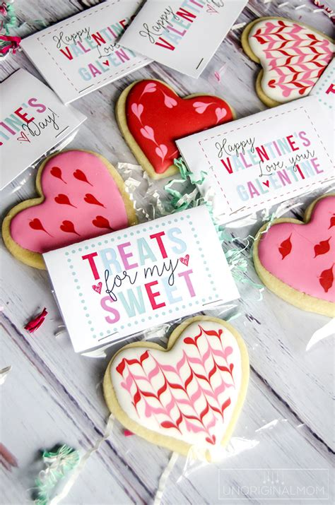 Valentines Day Treats Product by Free S Day Treat Printables Unoriginal