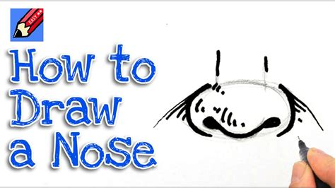 Learn How To Draw A Nose