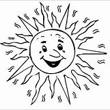 Happy Face Sun Black And White | 308 x 304 png 34kB