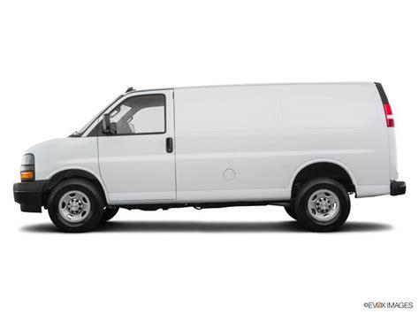 certified  summit white chevrolet express cargo van