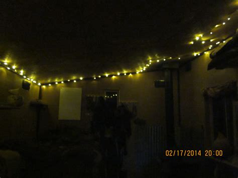 using 12 volt lights in a solar powered house christmas