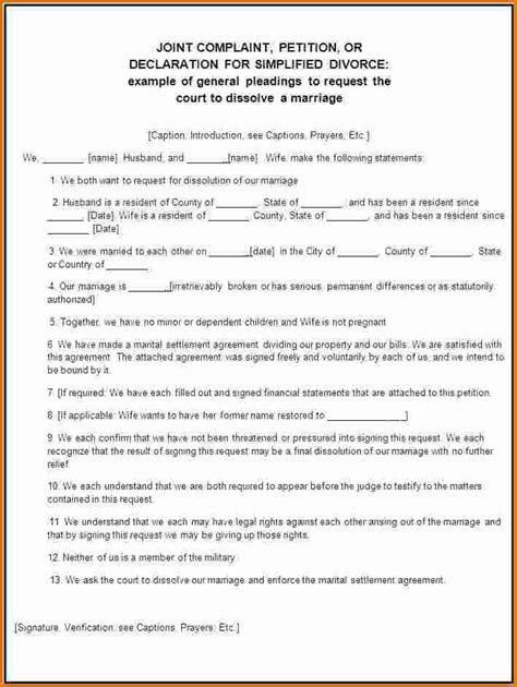 divorce decree template 5 divorce papers divorce document