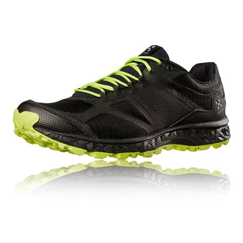 mens black sports shoes haglofs gram xc ii mens black walking hiking trainers
