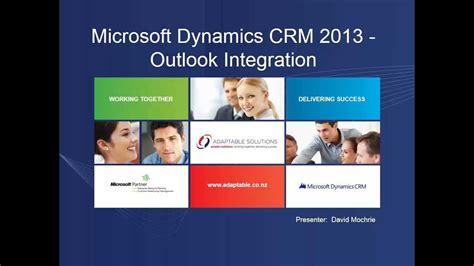 Microsoft Dynamics Crm 2013 Outlook Integration Part 2 | outlook integration with microsoft dynamics crm 2013 part i