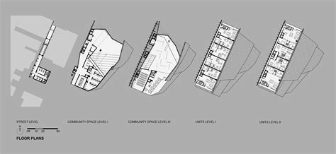skyscraper floor plan gallery of for new york skyscraper cantilevers lobby its neighbors 6