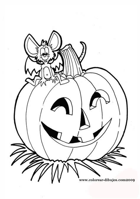 dibujos para colorear de halloween calabazas mascaras carnaval ninos descubriendo pequemundos calabazas de halloween para colorear