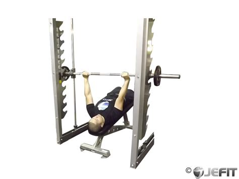 bench machine smith machine decline bench press exercise database