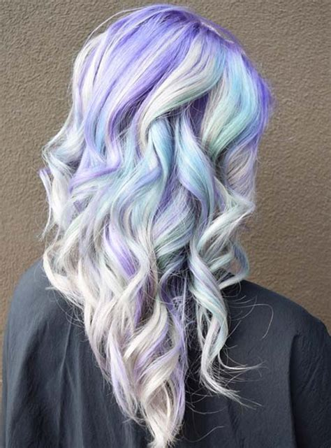 colors snd frost hair styles 50 bold pastel and neon hair colors in balayage and ombre