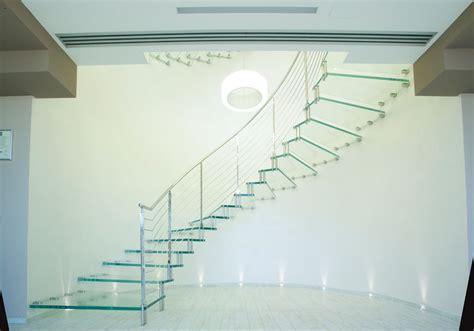 treppen aus glas marretti srl escalera en voladizo de cristal 18 interior