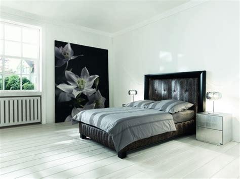 chambre noir gris chambre lit noir chambre prune et dcoration