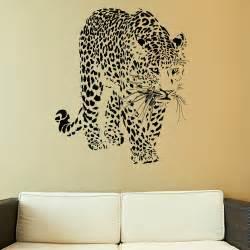 full leopard wall stickers room decor kids decals wallies owls big