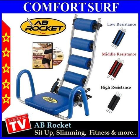 Slimming Stovepipe Fitness Equipment free gift given ab rocket exercis end 11 26 2018 10 15 am