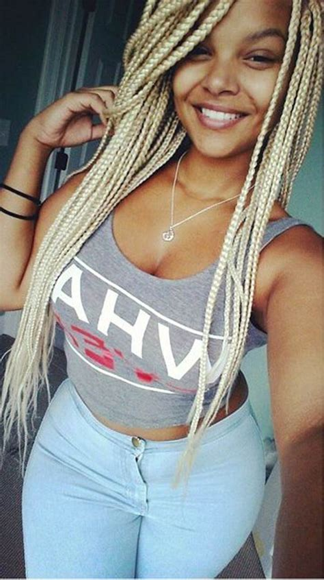 gold on top red on bottom box braids 57 poetic justice braids hairstyles style easily