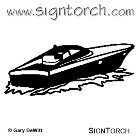 speed boat tattoo speed boat 4 signtorch turning images into vector cut
