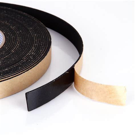 Seal 10m 15mm x 2mm sponge rubber single sided foam closed cell seal 10m black ebay