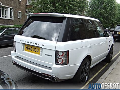 land rover overfinch land rover overfinch range rover autobiography 8 may